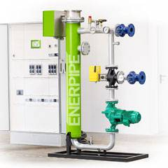 Power-to-Heat negative Regelenergie Edelstahl Heizstab (PtH, P2H)