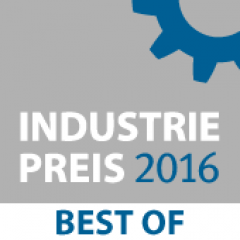 Industriepreis 2016 BEST OF P4H P4I Power for Home Power for Industry Power to Heat PtH P2H